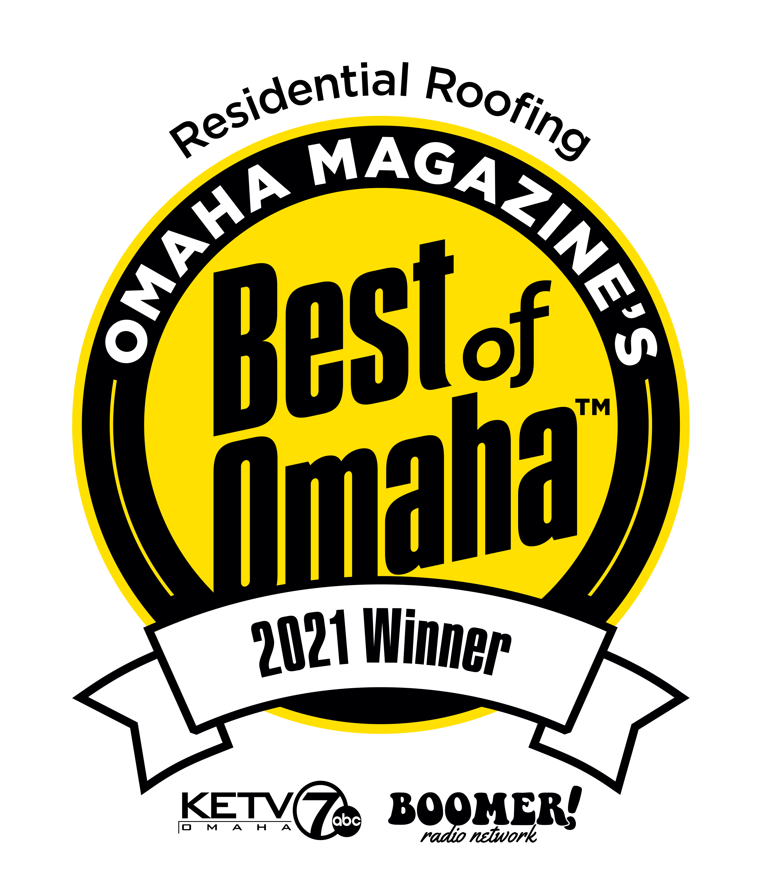 Best of Omaha 2021 Residential Roofing Winner