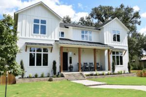2021 Home Exterior Trends - White Farm House